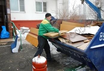 vyvoz stenki3 - Заказ контейнера 8 куб с погрузкой по Москве
