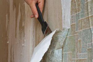 snyatie oboev 300x200 - Демонтаж обоев, снятие, очистка стен, удаление