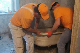1 6 272x182 - Слом и демонтаж сантехкабины с вывозом мусора