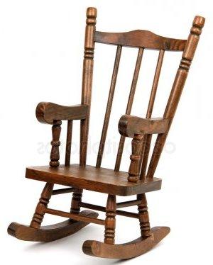 старое кресло-качалка