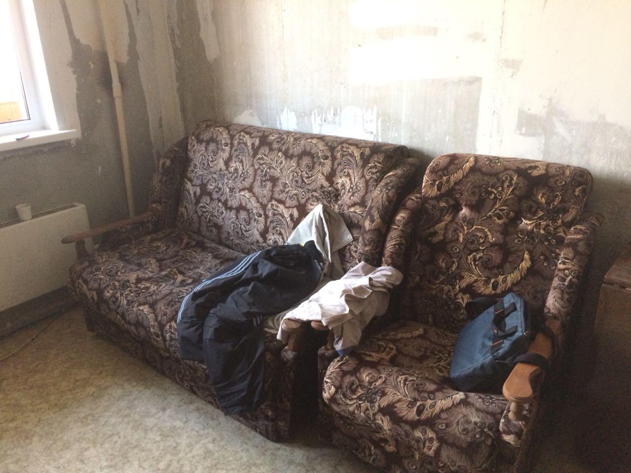 Вывезти мягкую мебель