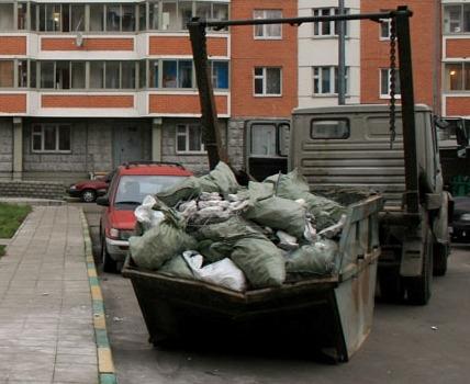 вывоз мусора после ремонта